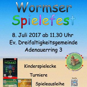 Wormser Spielefest am 8.7.2017